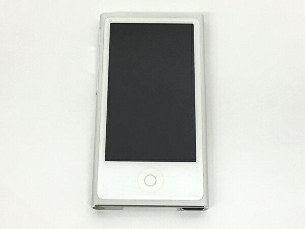 【中古】 Apple アップル iPod nano MD480J/A S 16GB ポータブル音楽プレーヤー シルバー T3223395