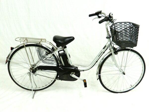【中古】 Panasonic パナソニック BE-ELTX632 電動 アシスト 自転車 楽直 【大型】 Y3398149
