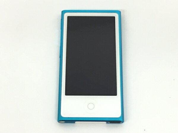 【中古】 Apple アップル iPod nano MD477J/A B 16GB ポータブル音楽プレーヤー T3223394