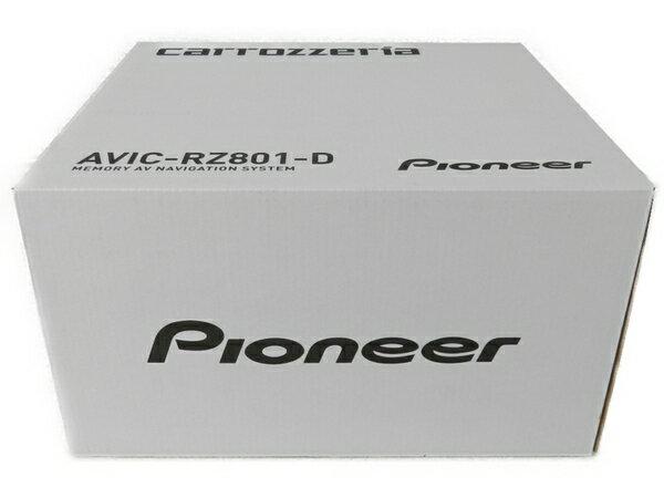 未使用 【中古】 Pioneer AVIC-RZ801-D carrozzeria カロッツェリア 7型 カーナビ S3633454