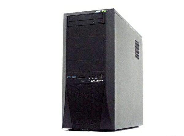【中古】 Thirdwave Corporation GALLERIA ZZ デスクトップPC i7 8700K 3.70GHz 32GB SSD500GB HDD3.0TB GTX 1080 Ti Win 10 Home 64bit T3968580