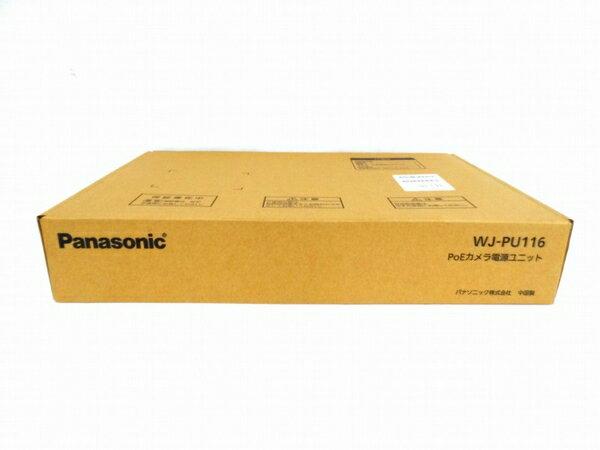 未使用 【中古】 Panasonic パナソニック 防犯カメラ WJ-PU116 カメラ電源ユニット O3131941