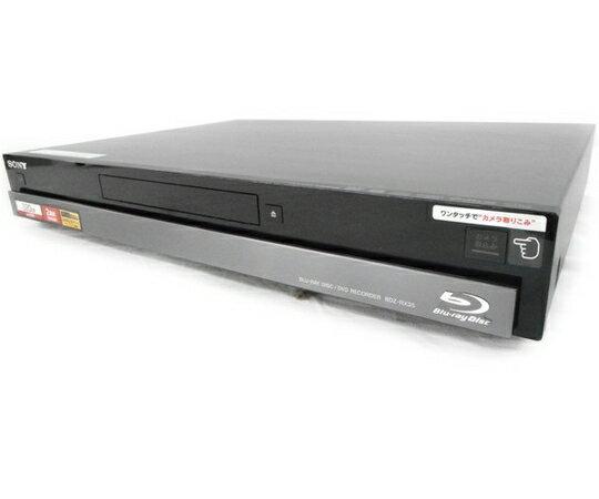 【中古】 SONY ソニー BDZ-RX35 BD ブルーレイ レコーダー 320GB ブラック W2778077