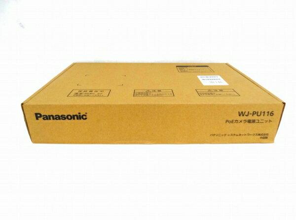 未使用 【中古】 未開封 Panasonic パナソニック PoEカメラ 電源ユニット WJ-PU116 ネットワークカメラ 防犯 O3131354
