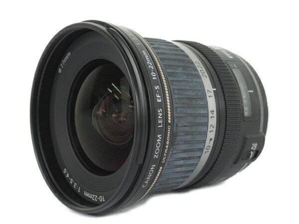 【中古】 Canon キャノン EF-S 10-22mm F3.5-4.5 USM 超広角 ズーム レンズ カメラ Y2878296