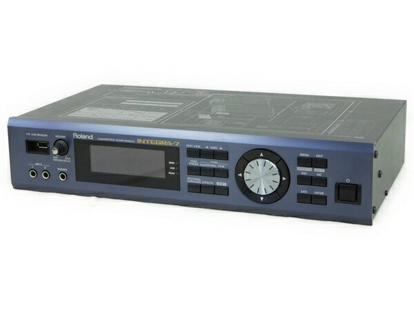 【中古】 Roland ローランド INTEGRA-7 音源モジュール 音楽制作 サウンドモジュール N2878944