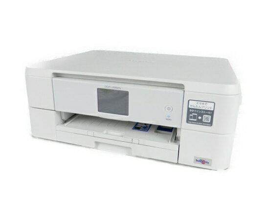 【中古】 brother ブラザー プリビオ DCP-J562N インクジェット プリンタ 複合機 ホワイト K3795950