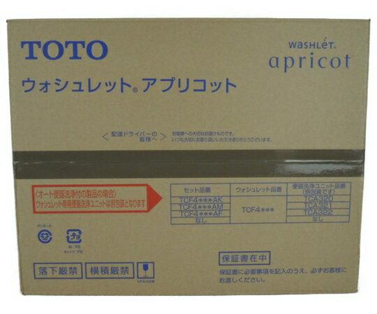 未使用 【中古】 TOTO TCF4723 ウォシュレット アプリコット #SC1 Pアイボリー 住宅 設備 Y3287702