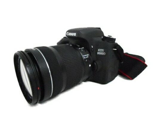 【中古】 Canon 8000D ボディ ZOOM EF-S 18-135mm F3.5-5.6 IS STM レンズ キット キヤノン カメラ W3417493