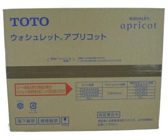 未使用 【中古】 TOTO TCF4723 ウォシュレット アプリコット #SC1 Pアイボリー 住宅 設備 Y3287701