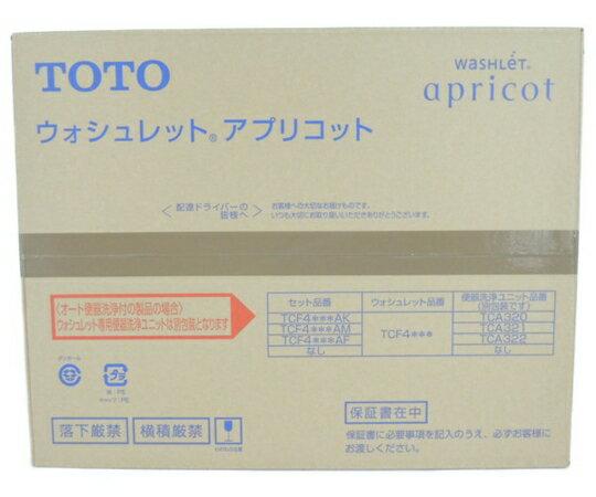 未使用 【中古】 TOTO TCF4723 ウォシュレット アプリコット #SC1 Pアイボリー 住宅 設備 Y3287700