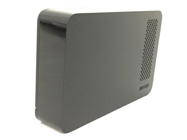 【中古】 BUFFALO ドライブステーション HD-LC2.0U3-BKF 外付け HDD2TB ブラック T2850862