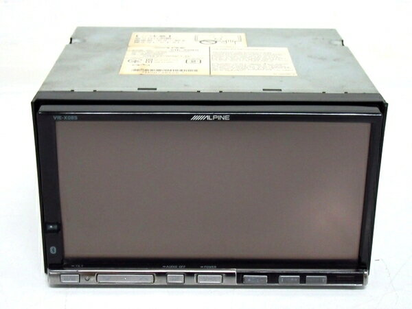 【中古】 中古 ALPINE アルパイン VIE-X08S カーナビ HDDナビ 7型 F3226037