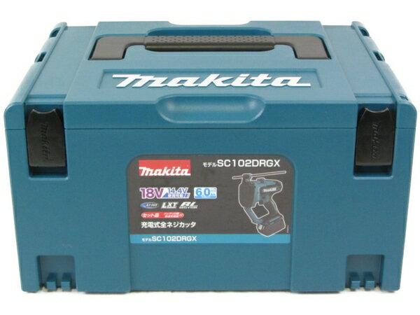 未使用 【中古】 makitaマキタ 充電式 全ネジカッター SC102DRGX 18V N3859603