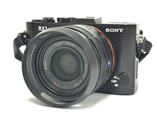 美品 【中古】 SONY ソニー Cyber-shot サイバーショット RX1R DSC-RX1R デジタルカメラ コンデジ ブラック T2724653