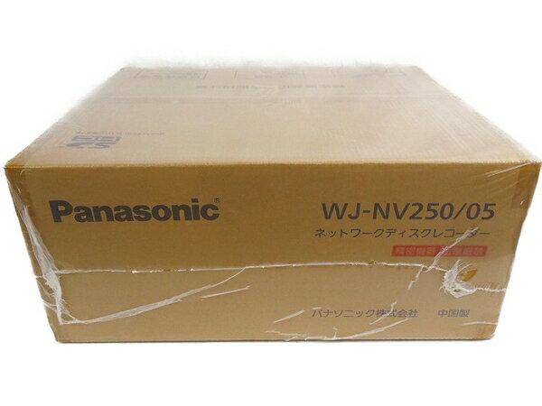 未使用 【中古】 未使用 Panasonic パナソニック i-PRO SmartHD WJ-NV250/05 ネットワーク ディスク レコーダー 防犯カメラ S3281757