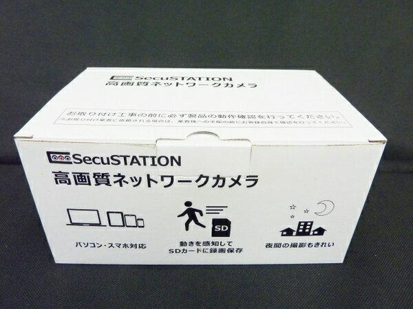 未使用 【中古】 未使用 SecuSTATION SC-831NH1 防犯カメラ ネットワークカメラ O3325663