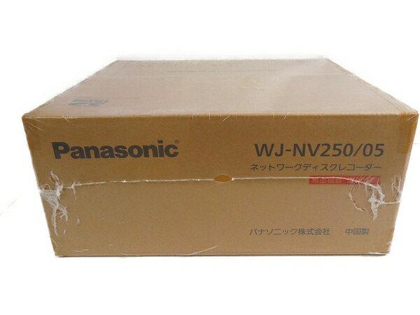 未使用 【中古】 Panasonic パナソニック i-PRO SmartHD WJ-NV250/05 ネットワーク ディスク レコーダー 防犯カメラ S3255874