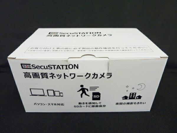 未使用 【中古】 SecuSTATION SC-831NH1 防犯カメラ ネットワークカメラ O3325664
