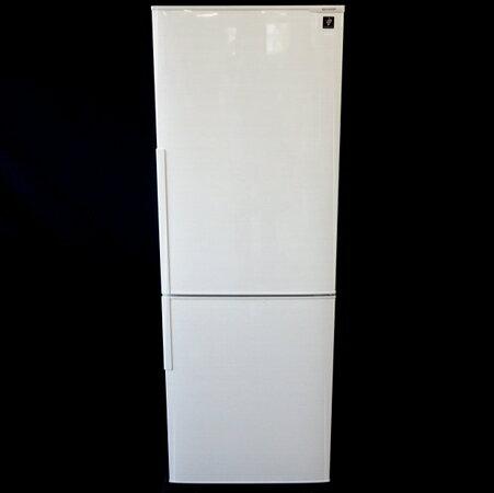 【中古】 中古 SHARP シャープ SJ-PD27C-W ノンフロン 冷凍 冷蔵庫 2ドア 271L 2017年製 【大型】 F3545195