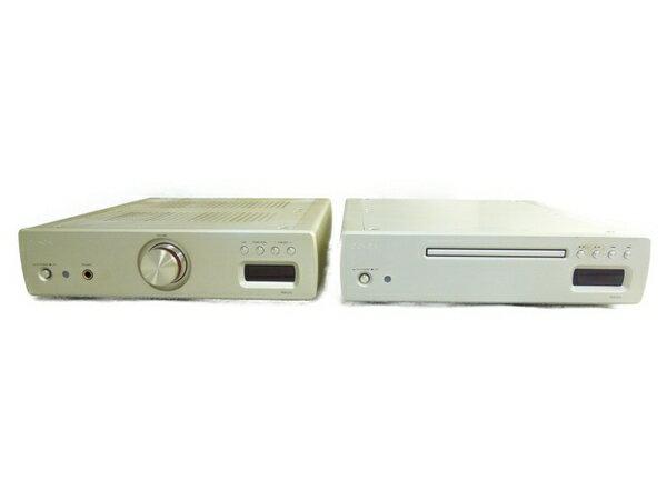 【中古】 DENON DCD-CX3 スーパー オーディオ CD プレーヤー PMA-CX3 プリメイン アンプ 音響 セット N3414391