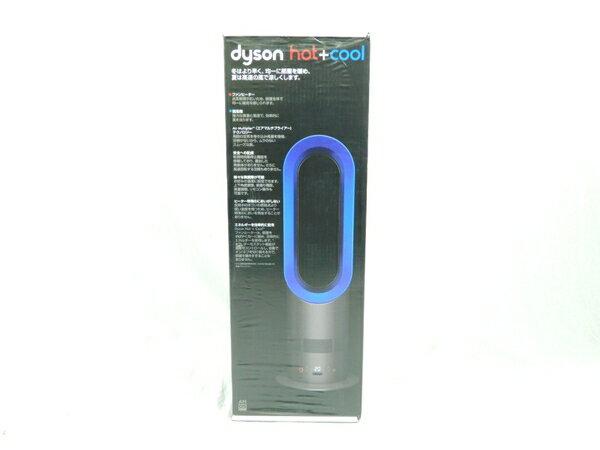 未使用 【中古】 dyson ダイソン hot+cool AM05-IB ファンヒーター アイアン/サテンブルー K3092903