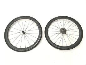 【中古】 XENTIS SQUAD 4.2SL ホイール 700×23C 前後輪 SHIMANO CS-R9100付 自転車 ゼンティス 良好 W5905291