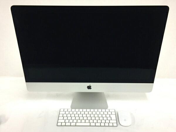 【中古】 中古 Apple アップル iMac MNEA2J/A 一体型 PC 27型 5K 2017 i7 7700K 4.2GHz 64GB SSD1TB Mojave 10.14 Radeon Pro 575 【大型】 T3522141