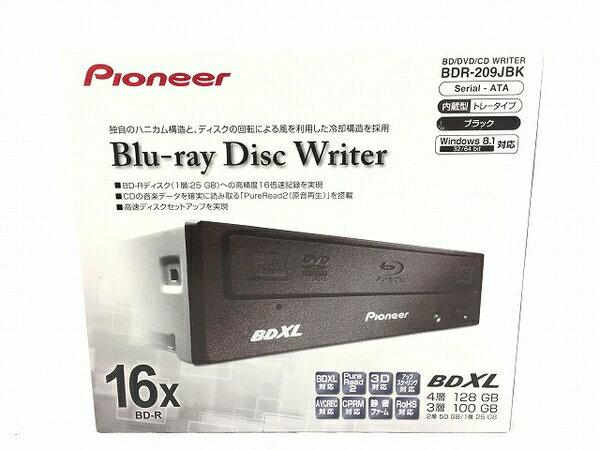 未使用 【中古】 Pioneer BDR-209JBK ブルーレイドライブ ブラック T3547482