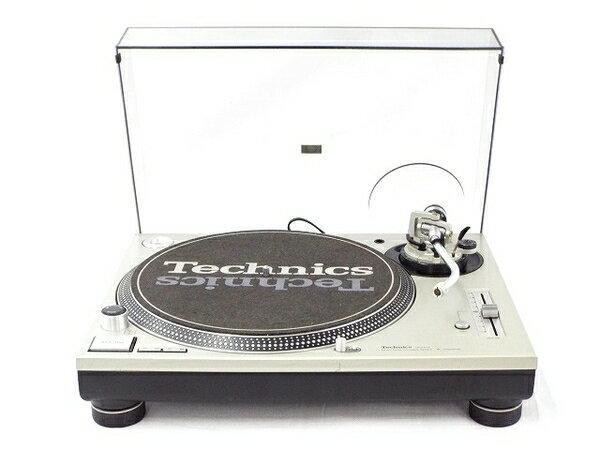 【中古】 Technics テクニクス SL-1200MK3D ターンテーブル オーディオ DJ機器 T3482723