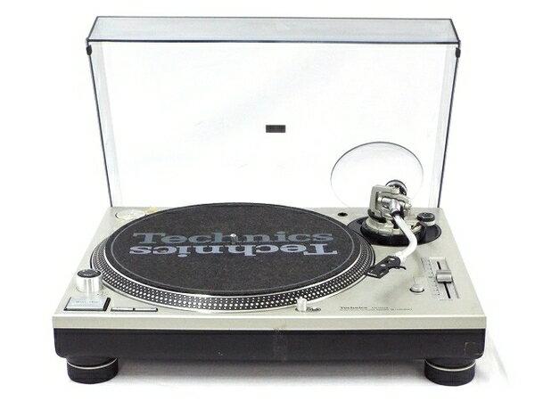 【中古】 Technics テクニクス SL-1200MK5 2台セット ターンテーブル シルバー DJ機器 T3482724