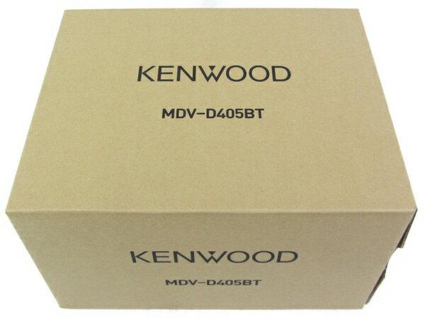 未使用 【中古】 KENWOOD ケンウッド MDV-D405BT カーナビ 車 2018年製 N3634248