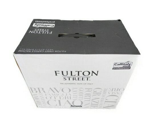 未使用 【中古】 Amway FULTON ストリートカプセルマシン コーヒーマシン N3417099