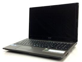 【中古】 Acer Aspire 5750 N54E/KF ノートブック パソコン 15.6型 i5 2410M 2.30GHz 4 GB HDD640GB Win 10 Home 64bit T5032012
