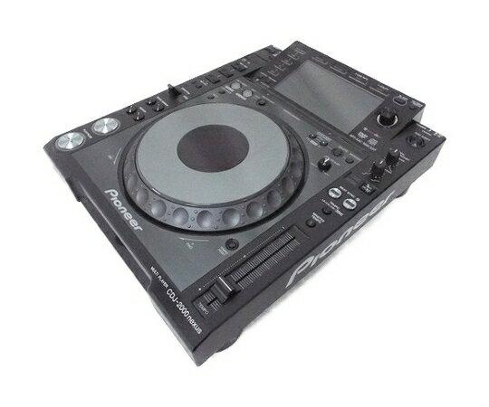 【中古】 Pioneer CDJ-2000NXS CDJ マルチプレイヤー DJ機器 パイオニア 音響機器 W3488378