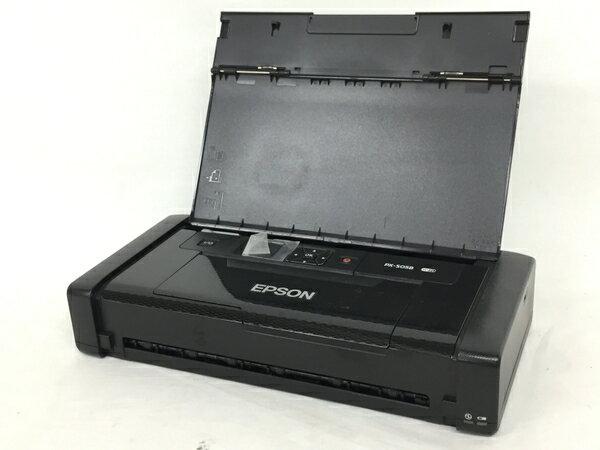 【中古】 EPSON PX-S05B モバイル プリンター ブラック T3396750