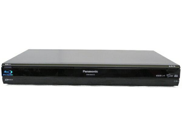 【中古】 Panasonic パナソニック DMR-BW570-K BD ブルーレイ レコーダー 320GB ブラック 2009年製 N3456352