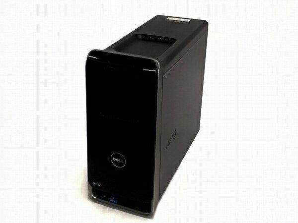 【中古】 DELL デル XPS 8300 デスクトップ パソコン PC i7 2600 3.4GHz 8GB HDD1.5TB Win10 Home 64bit Radeon HD6670 T3121119