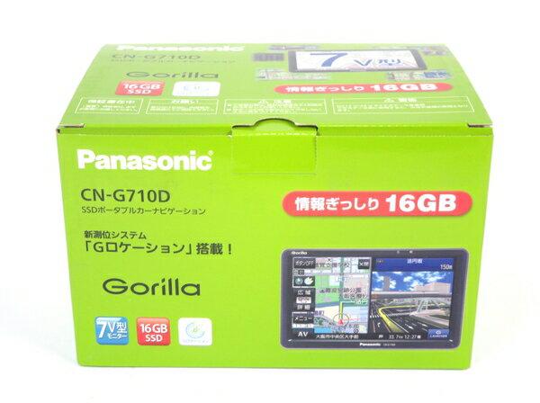 未使用 【中古】 Panasonic パナソニック ゴリラ CN-G710D SSD ポータブルカーナビゲーション M3555910