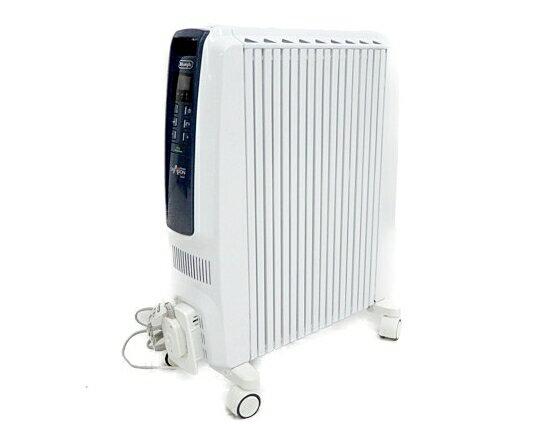 【中古】 DeLonghi デロンギ ドラゴンデジタルスマート TDDS0915BL オイルヒーター 4~10畳 家電 Y3601867