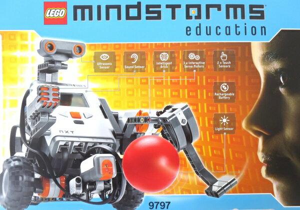 未使用 【中古】 未使用未開封品 Lego レゴ Mindstorms Education NXT Base Set 9797 レゴ マインドストーム 知育玩具 コンピュータープログラム ロボット作製ブロック おもちゃ M3770594
