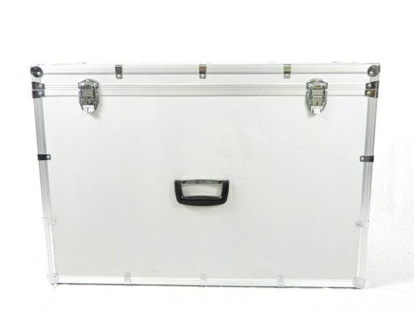 【中古】 メーカー不明 ジュラルミンケース 大型 アルミケース カメラ ケース アクセサリー ハードケース K3274815