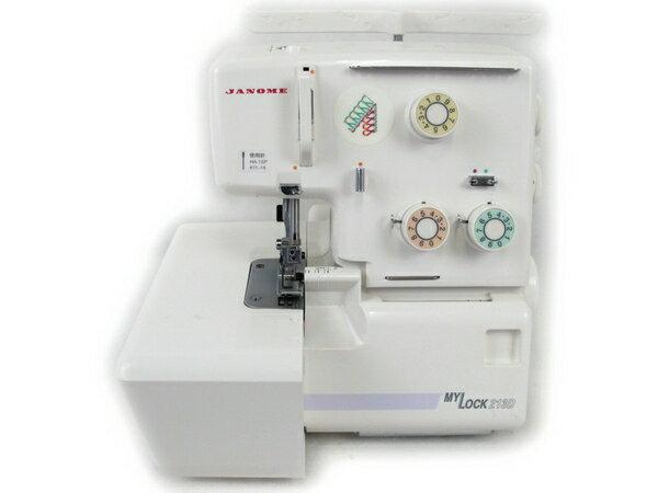 【中古】 Janome MY Lock 213D 788型 ロックミシン ジャノメ ソーイング 裁縫 N2683579