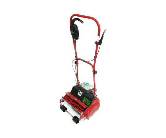 【中古】 キンボシ ECO-3000 充電式 芝刈り機 自走式 リール式5枚刃 刈幅300mm【大型】 T2672879