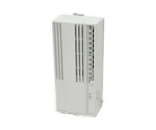 【中古】 CORONA コロナ CW-F1616E4 冷房専用窓用 ウインドウエアコン エディオンオリジナル ホワイト 【大型】 K3337788