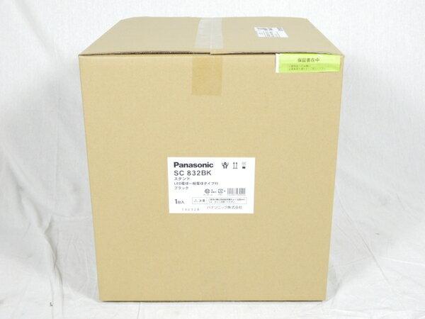 未使用 【中古】 パナソニック Panasonic SC832BK 卓上型 LED 電球色 スタンド 中間スイッチ付 MODIFY モディファイ パネル付型 白熱電球60形1灯器具相当 K3092815