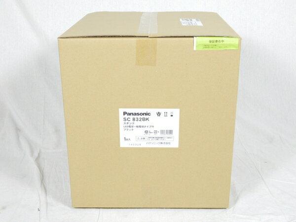 未使用 【中古】 パナソニック Panasonic SC832BK 卓上型 LED 電球色 スタンド 中間スイッチ付 MODIFY モディファイ パネル付型 白熱電球60形1灯器具相当 K3092816