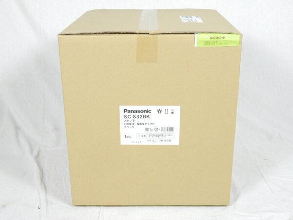 未使用 【中古】 パナソニック Panasonic SC832BK 卓上型 LED 電球色 スタンド 中間スイッチ付 MODIFY モディファイ パネル付型 白熱電球60形1灯器具相当 K3092817