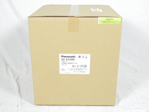 未使用 【中古】 パナソニック Panasonic SC832BK 卓上型 LED 電球色 スタンド 中間スイッチ付 MODIFY モディファイ パネル付型 白熱電球60形1灯器具相当 K3092818