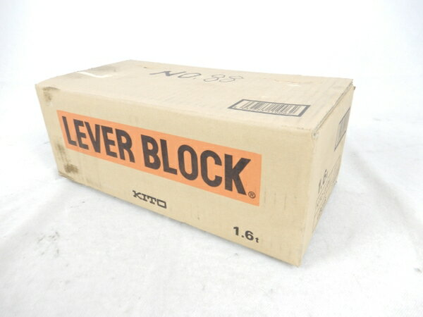 未使用 【中古】 KITO キトー LB016 小形 軽量 レバーブロック L型 電動工具 K3126291